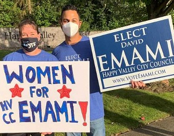 David Emami is best qualified for Happy Valley City Council