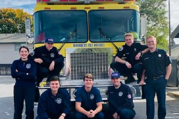 Student volunteers join Woodburn Fire District
