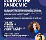 Libraries host 'Parenting During The Pandemic' virtual program
