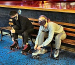 Cautiously, fun rolls out again at Oaks Park's Roller Skating…