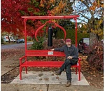 'Wishing Bench' makes music in downtown Forest Grove