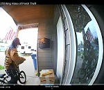 Woodburn Police seek suspect in porch-package theft
