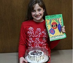 Pioneer coloring contest winners take the cake