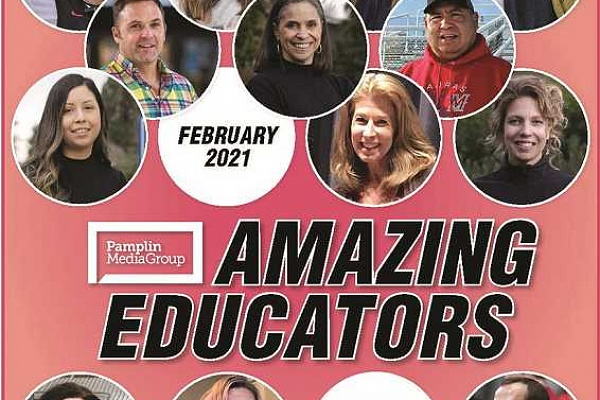 Honoring our most Amazing Educators is today's good news