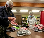 Beaverton Rotary Club donates hundreds of shoes for children