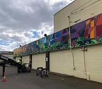 Colorful mural added to Tigard's Main Street