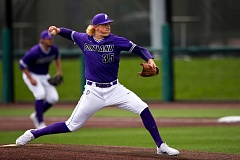 COURTESY: UNIVERSITY OF PORTLAND - Kevin Baker's pitching helped the Portland Pilots win at San Francisco and take a 2-1 series victory over the Dons.