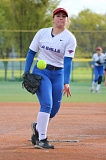 REVIEW/NEWS PHOTO: JIM BESEDA - La Salle Prep's Kiriahna Edeline pitched the first 4 1/3 innings in Thursday's 8-4 win over Milwaukie.