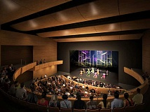 COURTESY CITY OF BEAVERTON - A rendering of the Beaverton Center for the Art's planned 450-seat auditorium.