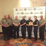 Representatives from the Washington County Sheriff's Office accepted recognition for their work in curbing driving under the influence.