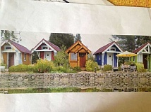 SUBMITTED PHOTO:  - Esther Halvorson-Hill imagines tiny houses could be an attractive solution for housing for seniors.