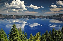 SUBMITTED PHOTO  - Visitors to Crater Lake National Park and the other four national parks help support the Oregon economy.
