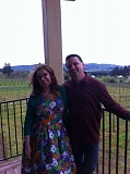 STAFF PHOTOS: BARB RANDALL - Sara and Dave Specter, proprietors and winemakers at Bells Up Winery, invite all to check out their new porch addition to the tasting room and winery. Bells Up will be open May 20-22 and Memorial Day Weekend.