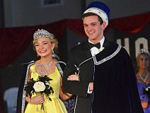 SPOKESMAN PHOTOS: VERN UYETAKE - Hayden Elizabeth Wilde and Thomas Keaton Whittaker were named 2017 Springfest Queen and King Friday, April 28.
