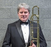 SUBMITTED PHOTO - Ken Peasley has worked with Dale Cleland since he began band in the fifth grade. He is the featured soloist in Sundays concert at Lakeridge High School auditorium. Doors open at 6:30 p.m.