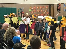 SUBMITTED PHOTO: COURTESY OF RIVER GROVE - Presentations on Mexican culture and history also necessitated a little dressing up at River Grove Elementary.