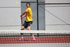 PAMPLIN MEDIA GROUP: JIM BESEDA - Central Catholic High senior Joey Schwartz heads to the state tennis championships this week with another Mt. Hood Conference title and the No. 3 singles seed.