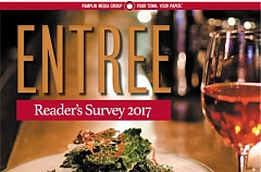 (Image is Clickable Link) ENTREE 2017 Reader's Food Survey