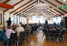 SUBMITTED PHOTO: LAKE OSWEGO ADULT COMMUNITY CENTER - Guests gathered for a volunteer-appreciation event last week at the Adult Community Center in Lake Oswego. On May 23, the ACC will celebrate its national recognition as an accredited senior center with an ice cream party for the public.