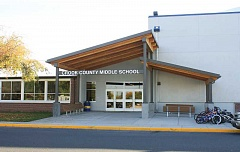 CENTRAL OREGONIAN FILE PHOTO - Business Oregon granted the school district $1 million to make the Crook County Middle School gymnasium more earthquake resistant. Construction will begin next month.