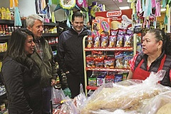 INDEPENDENT FILE PHOTO - Rep. Teresa Alonso Leon is trying to hold a Small Business Saturday event every month. Last month included a visit from U.S. Congressman Kurt Schrader.