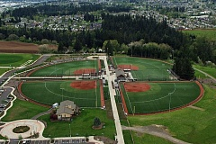 PAMPLIN MEDIA GROUP FILE PHOTO - Opened in August of 2009, Hood View Park is the second sports complex designed and built by the North Clackamas Parks & Recreation District.