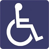 CENTRAL OREGONIAN - Handicap sign