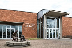 TIMES PHOTO: JONATHAN HOUSE - The Tualatin Public Library and others in the Washington County Cooperative Library Services system will stop charging overdue fines for children's materials beginning next month.