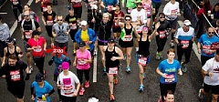 COURTESY OF THE ROSE FESTIVAL - The Rose Festival Half-Marathon takes place in Beaverton Sunday.