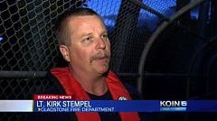 KOIN 6 NEWS - Gladstone Fire Lt. Kirk Stempel said the 19-year-old man was seen jumping into the Clackamas River around 7:20 p.m.