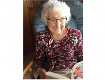 SUBMITTED PHOTO - Virginia Carlson Root will celebrate her 95th birthday.