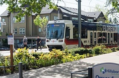 HILLSBORO TRIBUNE FILE PHOTO - After nearly a month of disruption, MAX light rail service is back to normal for Hillsboros Blue and Red line trains. The disruption was caused by construction to some of the oldest parts of the MAX line in downtown Portland.