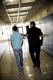 HILLSBORO TRIBUNE FILE PHOTO - Liberty High School was placed in lockout on Wednesday after a teen faked a call to a suicide prevention hotline and claimed to have a weapon on campus.