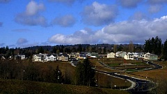 PAMPLIN MEDIA FILE PHOTO - Hillsboro is one of the fastest-growing large cities in Oregon. Pictured, the 2001 Street of Dreams in Hillsboro.