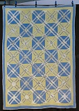 EILEEN G. FITZSIMONS - This quilt, made in 1930 for a Sellwood woman associated with the WCTU, contains the signatures of more than 300 of her friends and associates.