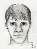 COURTESY PORTLAND POLICE BUREAU - A Portland Police Bureau sketch artist provided this drawing of the New Years Day sexual assault suspect.