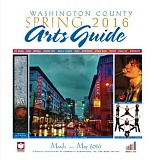 (Image is Clickable Link) Washington County Arts Guide Spring 2016