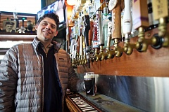 TIMES PHOTO: JAIME VALDEZ - Allen Bower, owner of Clancy's Pub and Restaurant in Sherwood, is preparing for St. Patrick's Day festivities. He says this year's celebration will be the biggest yet.
