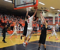 TIMES FILE PHOTO - Beaverton junior forward Hunter Sweet led the Beavers in both scoring and rebounding this year, took the team to a Metro League championship, and was rewarded by being named Metro League Player of the Year.