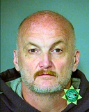 MCDC BOOKING PHOTO - Thomas Peacock, 50, is back in custody for parole violation, in addition to a new sexual crime in Gresham. He was arrested near Oaks Bottom.
