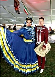 COURTESY PHOTO: JANET PARDO - Dancers with Ballet Folklorico Mexico En La Piel Academia from Forest Grove performed Thursday afternoon, May 5, during the 32nd annual Cinco de Mayo Fiesta in Tom McCall Waterfront Park.