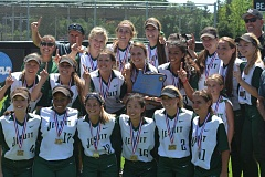 PAMPLIN MEDIA GROUP: MATT SINGLEDECKER - The Jesuit High softball team won the Class 6A championship for the first time since 2006, beating Glencoe 9-1 on Saturday.