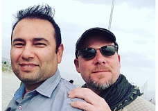 COURTESY PHOTO: NPR - An undated photo provided by NPR shows Zabihullah Tamanna, left, and David Gilkey. Gilkey, a veteran news photographer and video editor for National Public Radio, and Tamanna, an Afghan translator, were killed while on assignment in southern Afghanistan on Sunday, June 5.