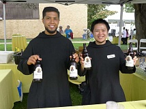 COURTESY PHOTO: MOUNT ANGEL ABBEY - Sample brews made by Mount Angel's Benedictine monks at the annual St. Benedict Festival July 9.