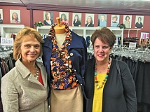 JAIME VALDEZ - Winners of the PMAR First Citizens Award: Barb Attridge (left) and Karen Fishel, the founders of Dress for Success Oregon, helped 635 women obtain and retain jobs in 2015. Not just about supplying job interview clothes any more, DFSO now offers training and other forms of support to women looking for work, especially in professional environments.
