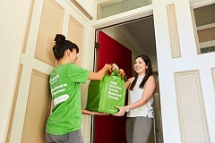 COURTESY: INSTACART - Instacarts green-clad shoppers are now delivering from restaurant supply store Cash&Carry and classic health food co-op Food Front.