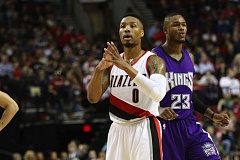 TRIBUNE FILE PHOTO: JAIME VALDEZ - Damian Lillard of the Trail Blazers says his focus is getting completely healthy for next NBA season.