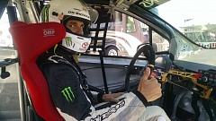 COURTESY PHOTO - Jamie Bestwick, an X Games star, will drive a race-prepped Toyota Yaris in the Rose Cup Races, July 29-31.