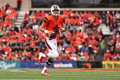 TRIBUNE FILE PHOTO: JAIME VALDEZ - As an Oregon State Beaver, Sean Mannion set the Pac-12 career record for passing yards. Now, in his second NFL season, he is behind Case Keenum and Jared Goff, the No. 1 pick in the 2016 draft, on the Los Angeles Rams' depth chart.