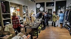 FILE PHOTO - Sixteen Sherwood Old Town shops hosted over 200 visitors during the most recent Art Walk; the next iteration is scheduled for Sept. 15
